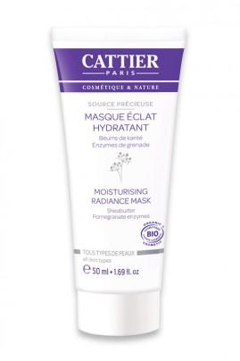 "Organic Moisturizing Radiance Mask ""Source Délicieuse"" Cattier"