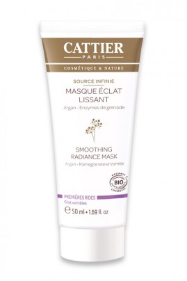 """Organic Smoothing Radiance Mask """"Source Infinie"""" Cattier"""