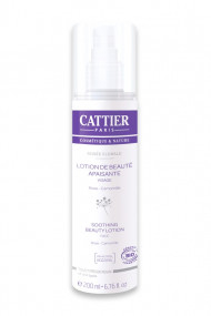 "Organic Soothing Beauty Lotion ""Rosée Florale"" Cattier"