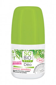 Organic Deodorant for Sensitive Skin SO'BiO étic