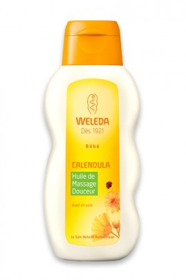 Vegan Calendula Massage Oil - Weleda Baby