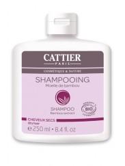 Shampooing Bio à la Moelle de Bambou - Cheveux Secs Cattier