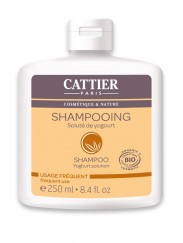 Shampooing Bio au Soluté de Yogourt - Usage Fréquent Cattier