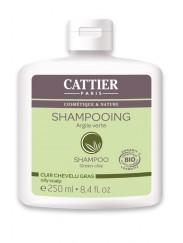 Shampooing Bio à l'Argile Verte - Cheveux Gras Cattier