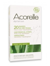 Organic Hair Removal Strips for Face Acorelle