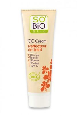 Organic CC Cream Color Corrector SO'BiO étic