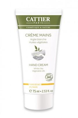 Organic Hand Cream With White Clay Cattier