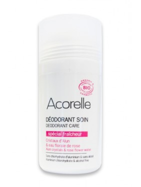 Organic Deodorant Rose Freshness Acorelle