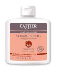 Shampooing Bio Vinaigre de Romarin Cheveux Gras Cattier