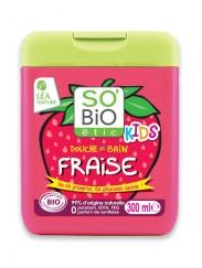 Gel Douche Bio Fraise Kids 2 en 1 SO'BiO étic
