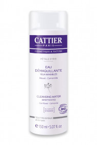 Organic Cleansing Water for Eyes Pétale d'Iris Cattier