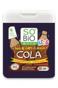 Organic 2 in 1 Cola Kids Shower Gel SO'BiO étic