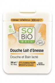 Crème de Douche et Bain Bio au Lait d'ânesse SO'Bio étic