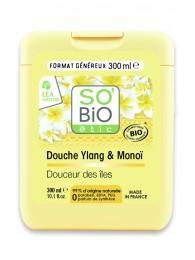 Organic Shower Gel Ylang and Monoï SO'BiO étic