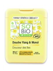 Gel Douche Bio Ylang et Monoï SO'BiO étic