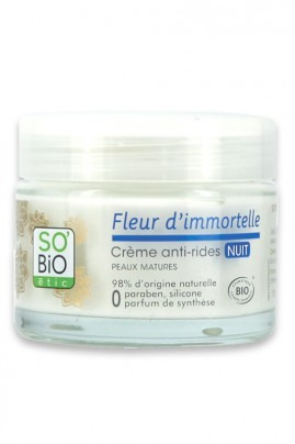 Organic Anti Wrinkle Cream NIGHT SO'BiO étic
