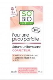 Sérum Uniformisant Correcteur pour une Peau Parfaite - So Bio Etic