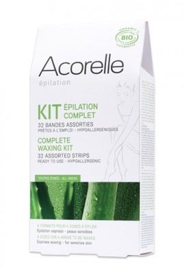 Hypoallergenic Hair Removal Strips for Face & Body Acorelle