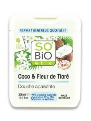 Crème de Douche Bio au Coco et Tiaré SO'BiO étic