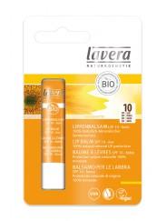 Baume à lèvres protection solaire SPF 10 - Lavera