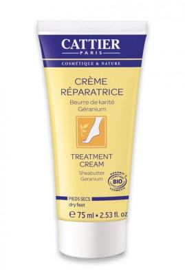 Crème Bio Réparatrice - Pieds Secs - Cattier