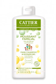 Gel Moussant Familial Bio - Corps & Cheveux - Cattier