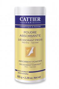 Déodorant Pieds Bio Poudre Absorbante Cattier