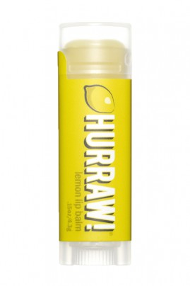 Baume à Lèvres Naturel & Vegan - Citron Jaune - Hurraw