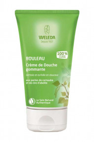 Birch Exfoliating Shower Cream Weleda