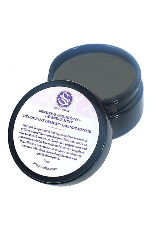 vegan sensitive skin deodorant lavender mint soapwalla ayanature. Black Bedroom Furniture Sets. Home Design Ideas