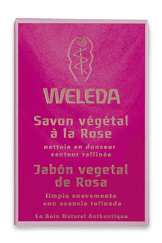 Rose Soap - Delicate Fragrance Weleda