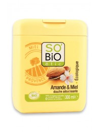 Organic Shower Cream Almond And Honey SO'BiO étic