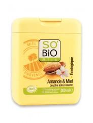 Crème de Douche Bio Amande et Miel SO'BiO étic
