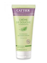 Organic Shower Cream Green Tea Fragrance Cattier