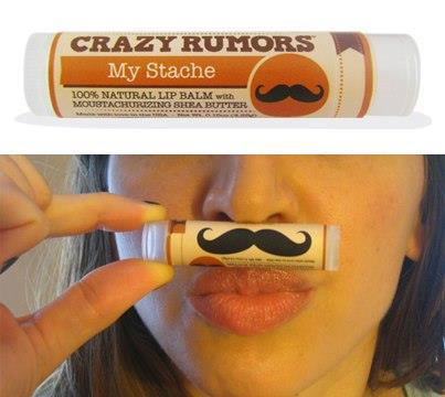 Crazy Rumors My Stache Lipbalm Sweet Mint - Ayanature