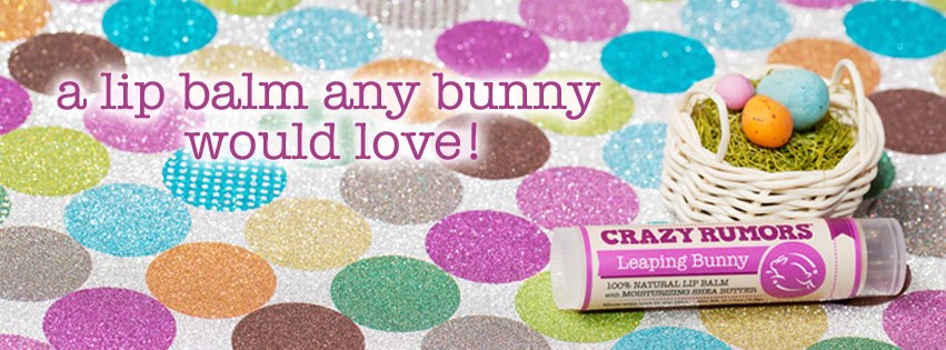 Crazy Rumors Lip Balm Leaping Bunny cruelty free - Ayanature