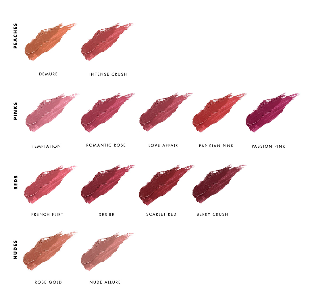 LILY LOLO Lipstick Swatches - Shop at Ayanature