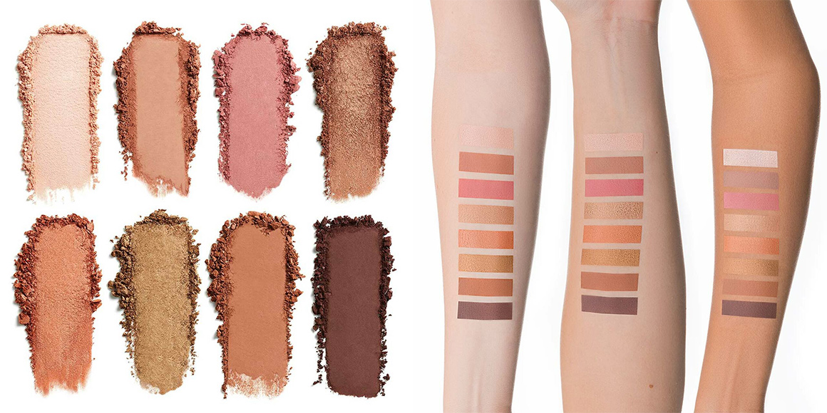 swatch golden hour palette lily lolo