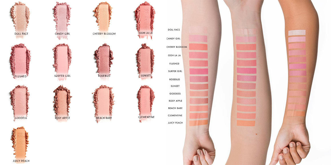 swatch blush lily lolo