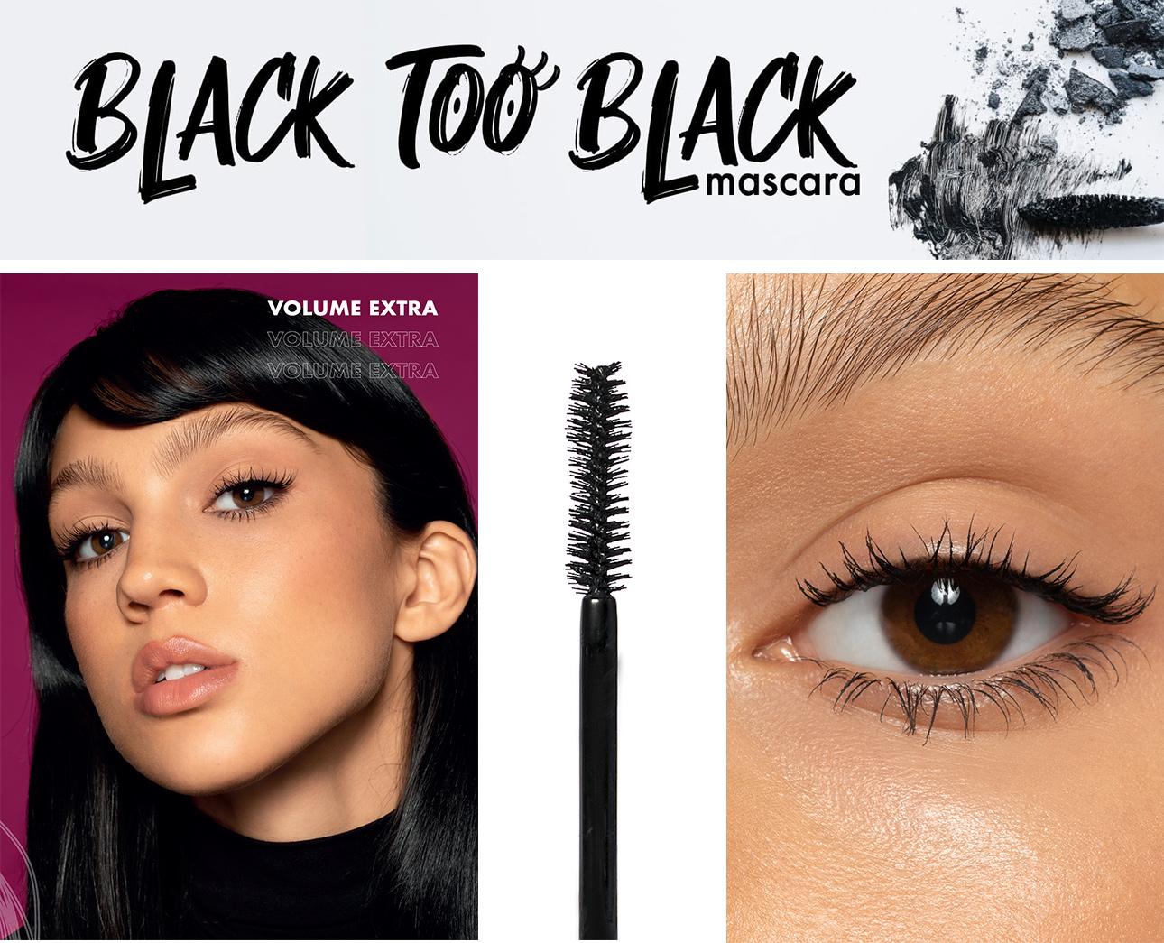 Mascara Black too Black Purobio