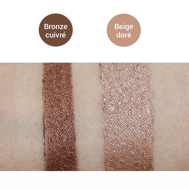 Bronze Cuivré & Beige Doré
