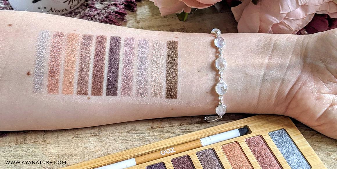 palette zao ultra shiny swatch