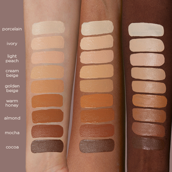 Swatchs Close Up Concealer Nabla