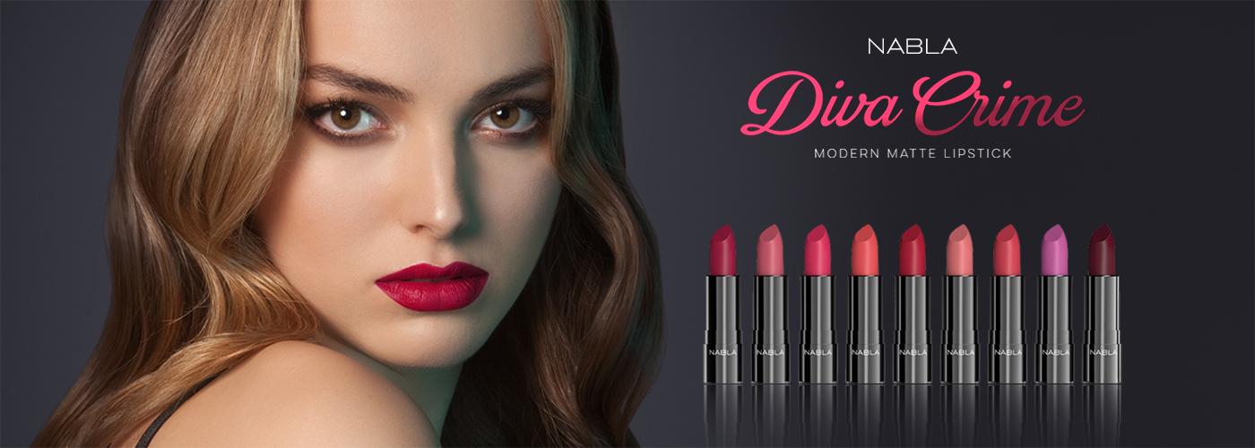 Diva Crime Lipsticks Nabla