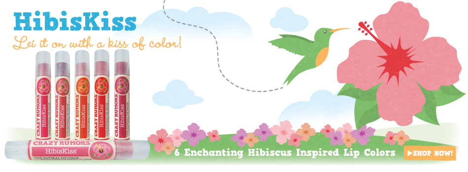 Crazy Rumors and its enchanting hibiscus inspired lip colors - Ayanature