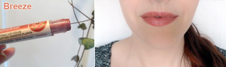"""Baume à lèvres teinté pêche nude """"Breeze"""" Crazy Rumors - Ayanature"""