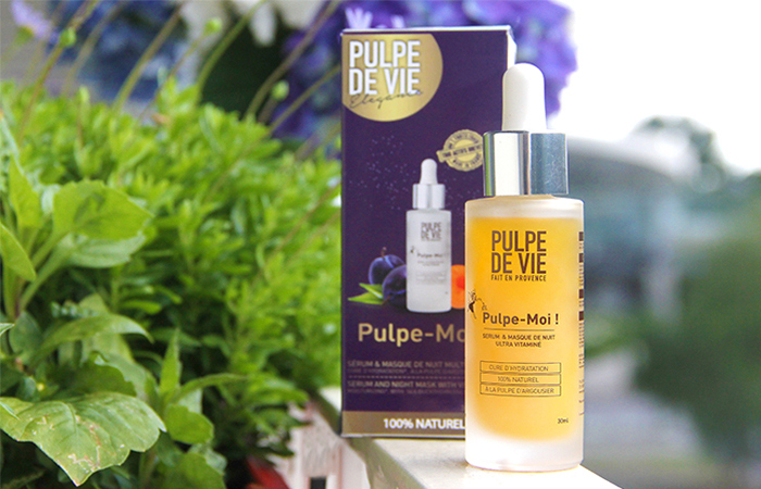 "Organic Face Serum ""Pulpe Moi"" on Ayanature"