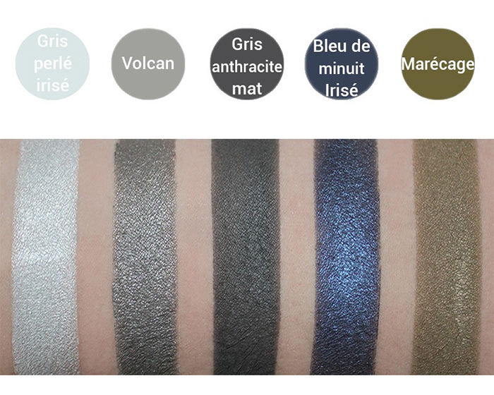 AVRIL Eyeshadows Swatches