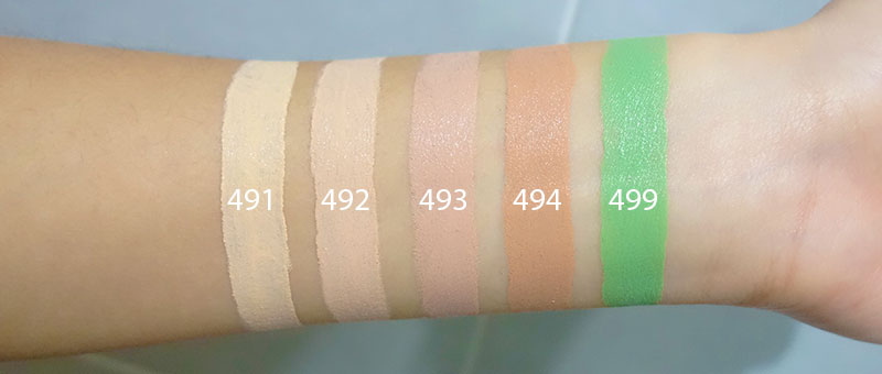 Zao Concealers